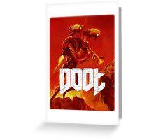 Doot Toot (Doom Shirt) Style #1 Greeting Card