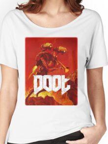 Doot Toot (Doom Shirt) Style #1 Women's Relaxed Fit T-Shirt