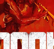 Doot Toot (Doom Shirt) Style #1 Sticker