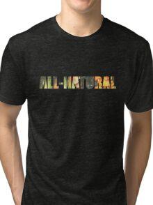 All-Natural design Tri-blend T-Shirt