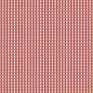 Pretty Pink Green Retro Pattern by donnagrayson