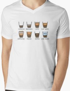 Coffee How-To Mens V-Neck T-Shirt