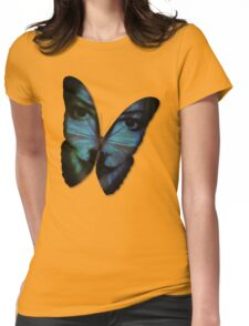 Am I A Butterfly Who Dreams About Being A Human? Womens Fitted T-Shirt