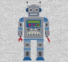 Robot Kids Tee One Piece - Long Sleeve