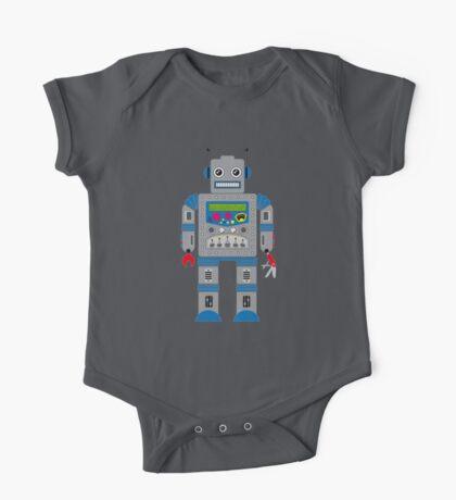 Robot Kids Tee One Piece - Short Sleeve