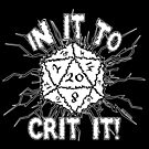 In It To Crit It! by GrimDork