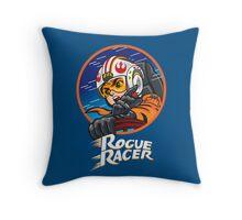 GO ROGUE RACER GO! Throw Pillow