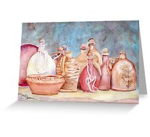 Lithuanian Pottery WC20150709a Greeting Card