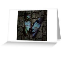 Am I A Butterfly Who Dreams About Being A Human? Greeting Card