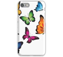 Colourful Butterflies iPhone Case/Skin