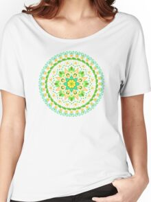 Peace Blossoms Women's Relaxed Fit T-Shirt