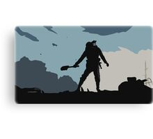 "Battlefield 1 ""Alone"" T-shirt  Canvas Print"