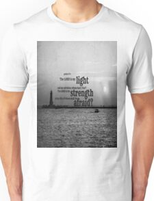 Psalm 27 Lord is My Light Unisex T-Shirt