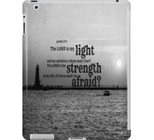 Psalm 27 Lord is My Light iPad Case/Skin