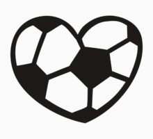 Soccer ball heart by Designzz
