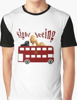 Sight Seeing In Leisure Graphic T-Shirt