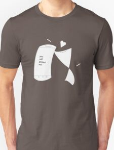 Screen Protector Love - Sketch Unisex T-Shirt