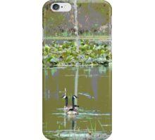 Marsh Waterfowl  iPhone Case/Skin