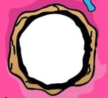 Simpsons Donut Sticker
