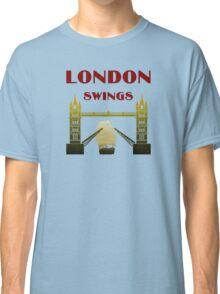 London Swings Your Way Classic T-Shirt