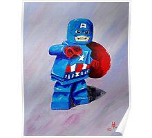 Captain Lego Poster