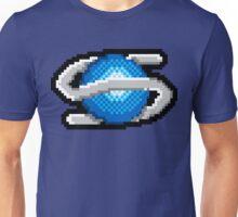 Pixel Saturn Unisex T-Shirt