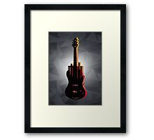 music nyc  Framed Print
