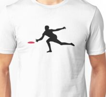 Discgolf player Unisex T-Shirt