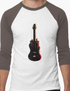 music nyc  Men's Baseball ¾ T-Shirt