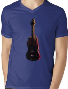 music nyc  Mens V-Neck T-Shirt