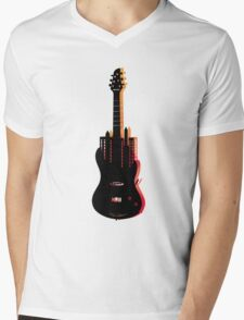 music nyc  Mens V-Neck T-Shirt