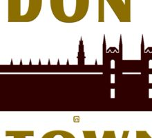 London Town Sites Sticker