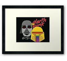 Darth Punk - Get Solo Framed Print
