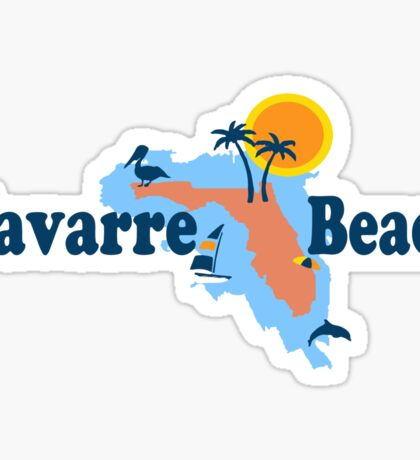 Navarre Beach - Florida. Sticker