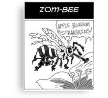 Zom-Bee Canvas Print
