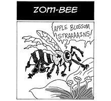 Zom-Bee Photographic Print