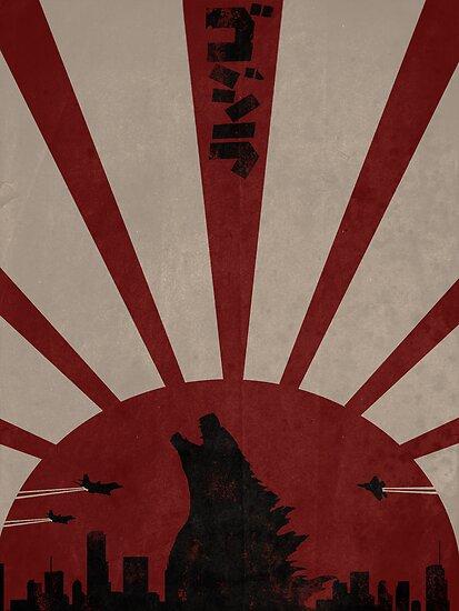 Godzilla by Noble-6