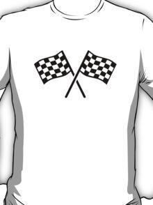 Racing finish flags T-Shirt