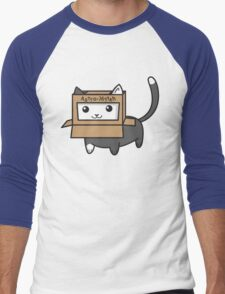 Astro Kitty Men's Baseball ¾ T-Shirt