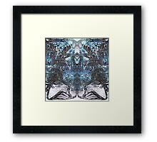 Urban Decay Abstract Industrial Texture Framed Print