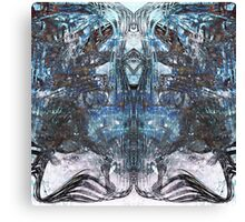 Urban Decay Abstract Industrial Texture Canvas Print