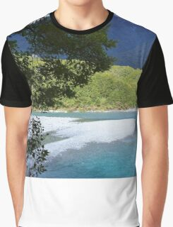 New Zealand Blue Pools Graphic T-Shirt