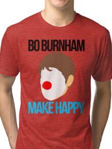 Bo Burnham - Make Happy Tri-blend T-Shirt