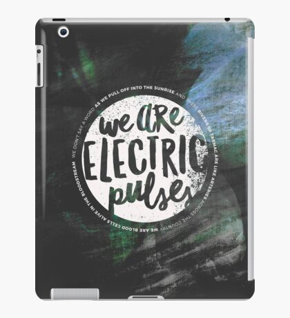 Electric Pulses iPad Case/Skin