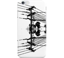 Powered Lines iPhone Case/Skin