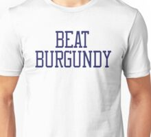 Beat Burgundy Unisex T-Shirt