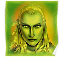 Green Legolas Greenleaf Poster