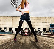 Chequered flag  by yampy