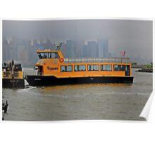 Liberty Landing Ferry Poster