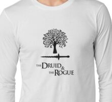 Critical Role - Vaxleth (The Druid & the Rogue) Long Sleeve T-Shirt